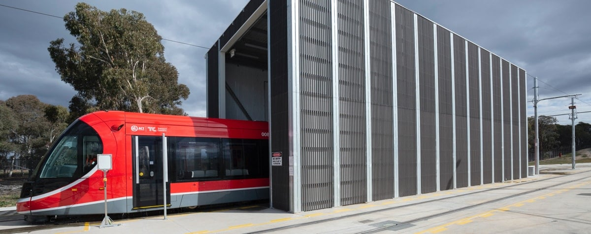 Façade Screening Well On Track! Getting Things Rolling with Canberra Metro
